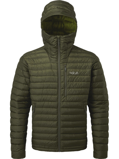 Rab Microlight Alpine Jacket Men Army/Cactus